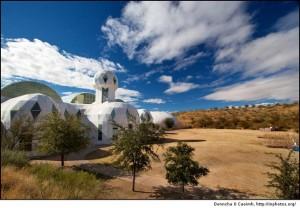 Kompleks Biosphere 2, najveći ikada izrađeni zatvoreni ekosustav smješten u Arizoni