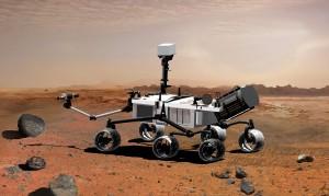 Računalna animacija – Rover Curiosity na Marsu