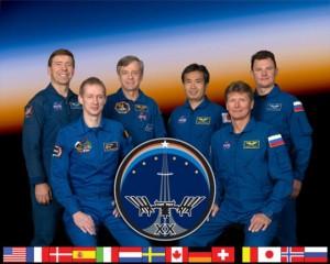 Članovi posade Ekspedicije 20