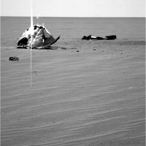 Ovakvi prizori na Marsu nisu rijetkost, slupane letjelice jednog ce dana biti mjesta za muzeje covjekova osvajanja Marsa