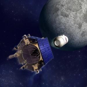 Računalni model trenutka lansiranja Centaura u «kamikaza» misiju prema Mjesečevoj površini s LCROSSa