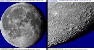 Simulacija mjesta udara Kaguye u Mjesec