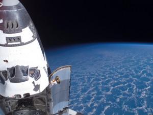 Raketoplan Endeavour u svemiru