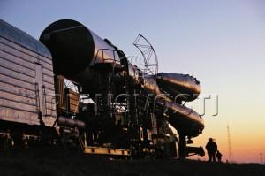 Pripreme pred lansiranje Progres M67