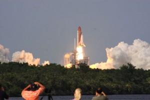 Lansiranje Endeavoura s raketodroma na Floridi