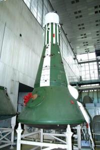 Vojna svemirska kapsula u dobro čuvanom skladištu