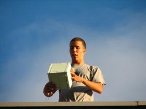 Test letenja snimanja i padobrana