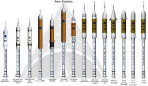 Varijante rakete Ares planirane za vrijeme koje dolazi