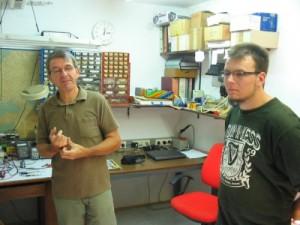 Zeljko Mogoroš i Petar Gljušćić