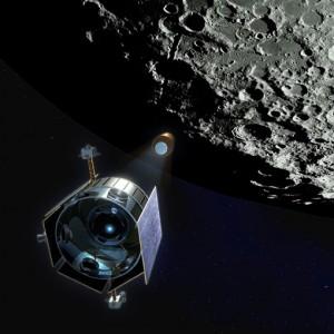 LCROSS pred udar u Mjesec