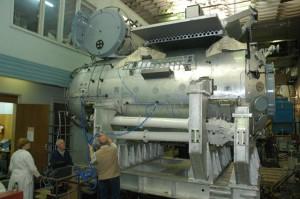 Ruski modul Poisk za vrijeme opremanja u laboratoriju