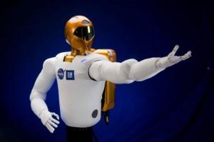 Robonaut pruža ruku astronautu