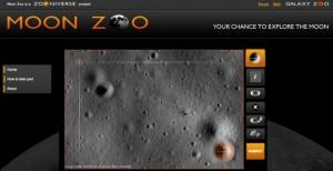 Sučelje virtualni astronauta na Mjesecu