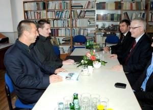 Predsjednik Republike Hrvatske prof.dr.sc. Ivo Josipović na sastanku s predstavnicima AU Vidulini